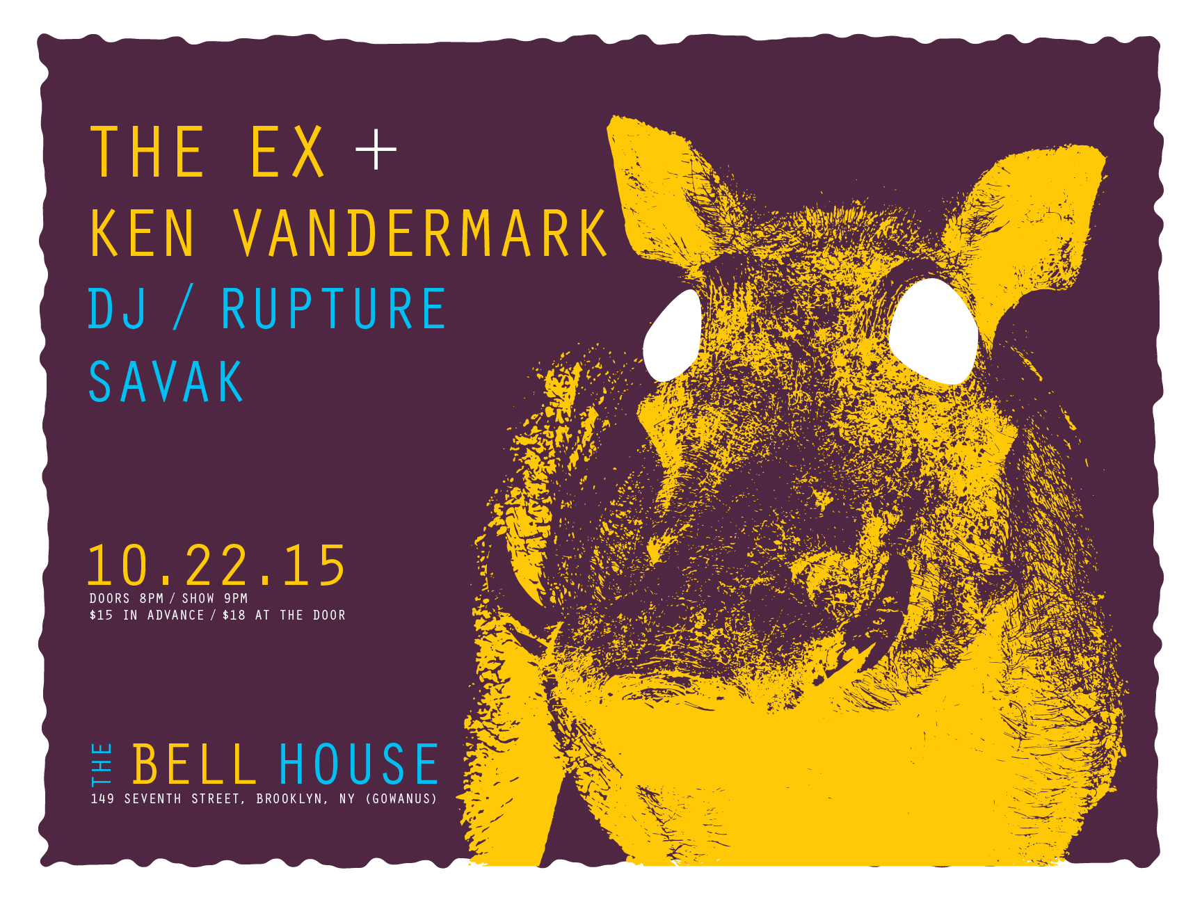The Ex + Ken Vandermark, DJ/Rupture and SAVAK