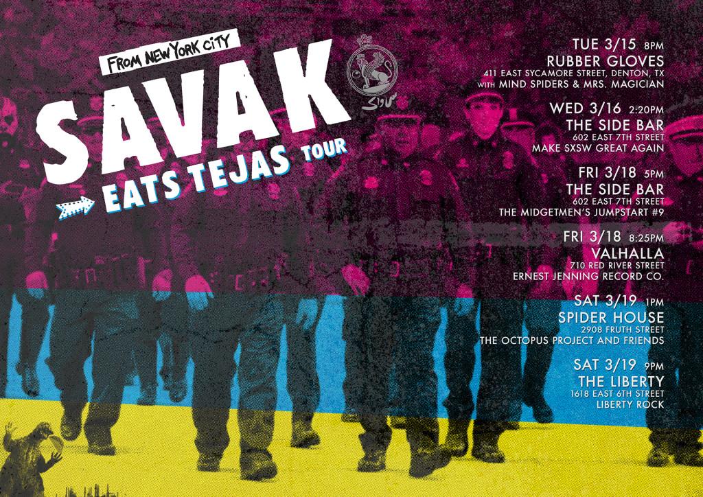 SAVAK Eats Tejas